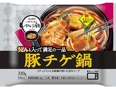 日本製粉 いまどきごはん ひとり鍋 豚チゲ鍋
