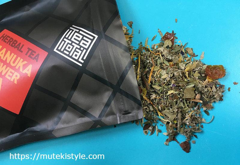 マヌカフラワーティーの茶葉成分
