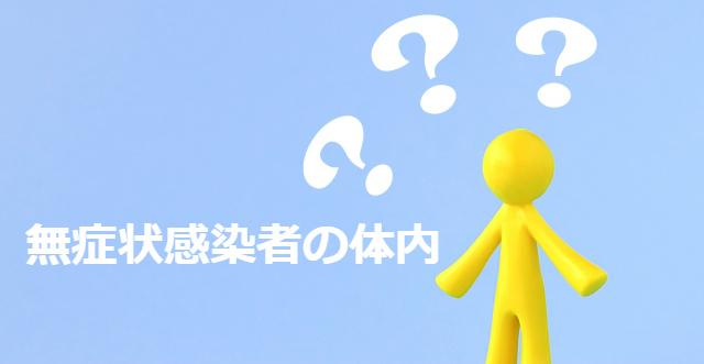 無症状感染者の体内ウィルスはどうなっている?新型肺炎